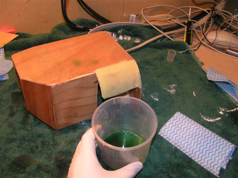 Brush Mold with Release Agent