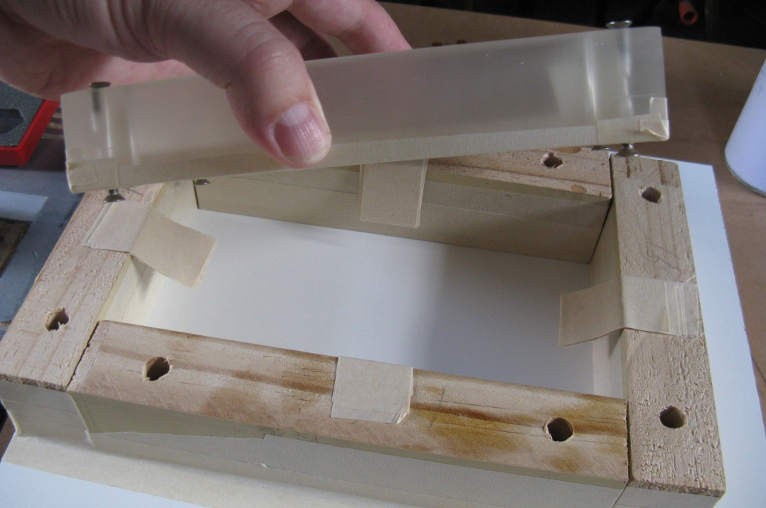 Epoxy Mold Making : Resin cast project enclosure rhys goodwin s we